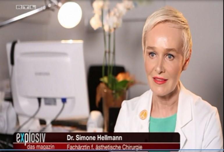 RTL Explosiv – Dr. Simone Hellmann im Interview