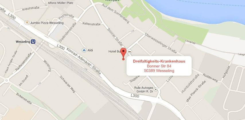 Dreifaltigkeits-Krankenhaus Wesseling