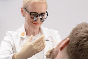 Botoxbehandlung in der H-Praxis